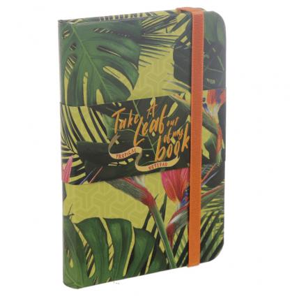 Notitieboekje Tropical A6 voorzijde