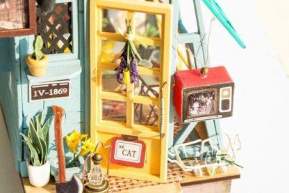 DIY bouwpakket Tuinhuisje 'Wooden Hut' - Robotime