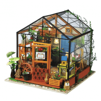 DIY bouwpakket Minikas 'Cathy's flowerhouse' - Robotime